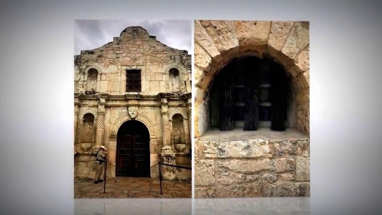 Mission San Antonio De Valero Slide Show Youtube