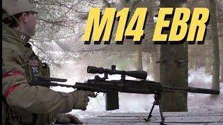 Airsoft Sniper War RA-Tech WE M14 EBR Scotland HD