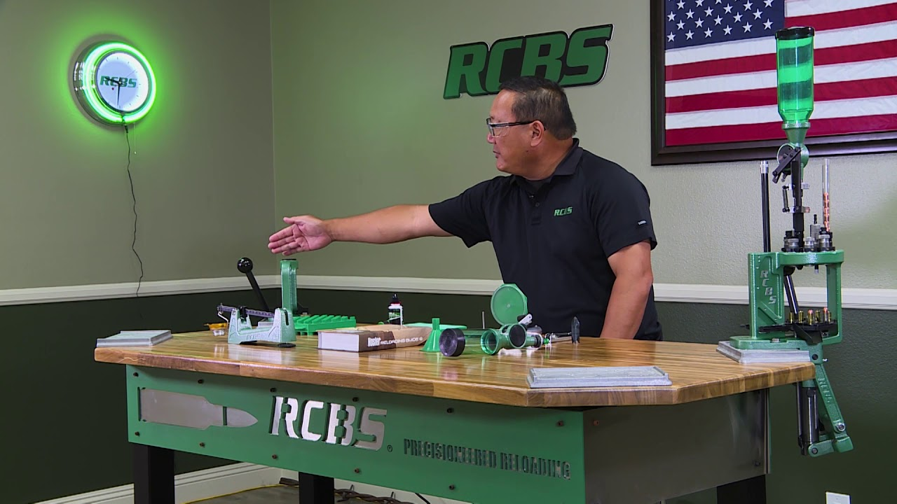 Intro To Handloading Rock Chucker Supreme Master Reloading Kit