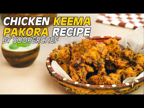 Chicken Keema Pakora Recipe By SooperChef