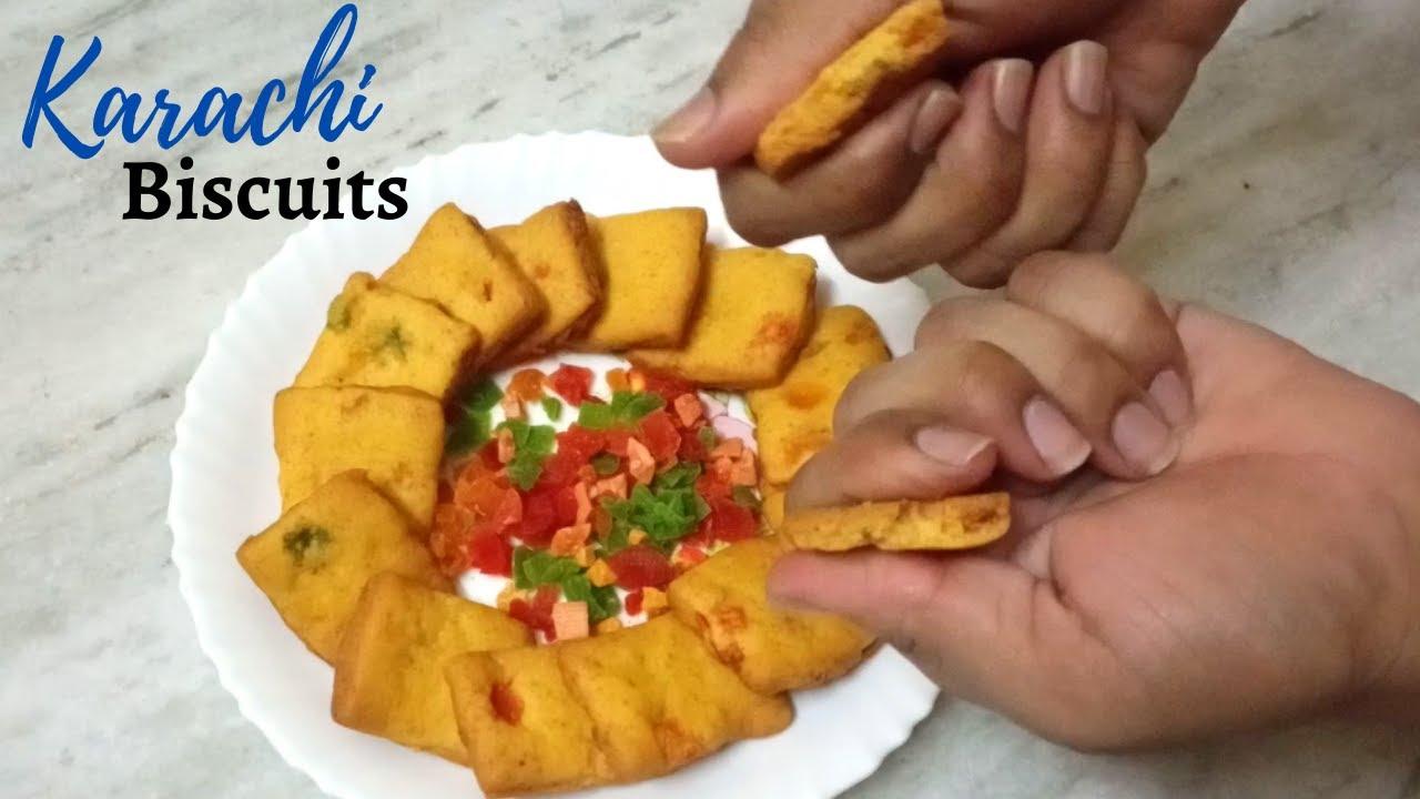 Karachi Bakery Tutti Frutti Biscuits Recipe | karachi bakery cookies