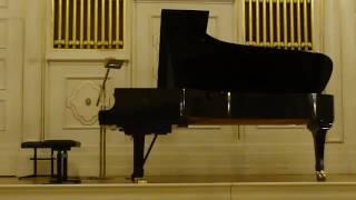 A. Ginastera - Tres Danzas Argentinas Op.2 - Javier Villegas, piano