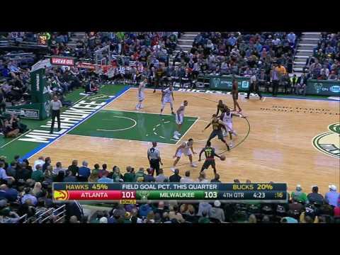 Atlanta Hawks vs Milwaukee Bucks | December 9, 2016 | NBA 2016-17 Season