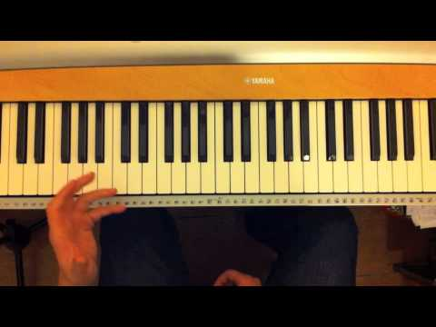 Split Chords On The Piano Some Basics Youtube