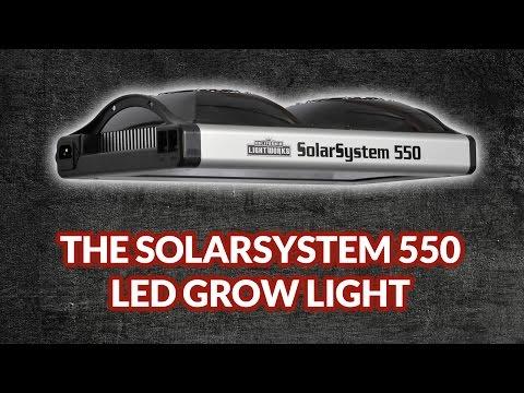 Latest Generation LED Grow Lights: SolarSystem 550 by California Lightworks