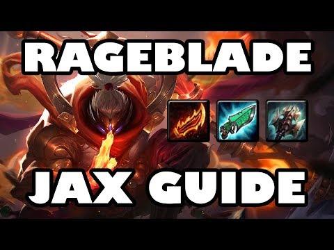 Conqueror Rageblade Jax Jungle Guide   AD/AP Hybrid DPS [8.8]