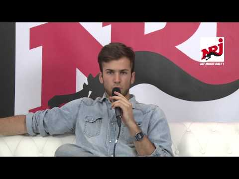 David Carreira - Interview au NRJ in the Park 2014