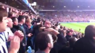 avfc 1 1 wba sept 2012 albion fans after going 0 1 up