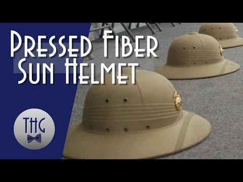 The Pressed Fiber Sun Helmet
