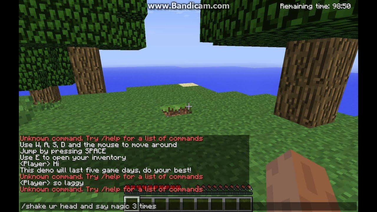 Cheat In Minecraft Demo! - YouTube