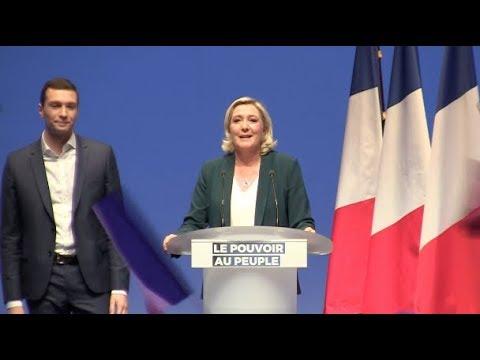 Discours de Marine Le Pen pour le lancement de la campagne pour les élections européennes 2019.