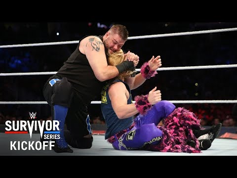 Kevin Owens punishes Tyler Breeze: Survivor Series 2017 Kickoff Match