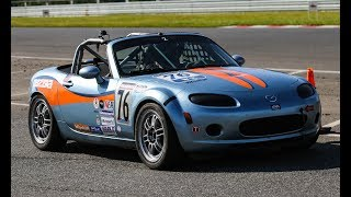 homepage tile video photo for Racing the 'NC' MX5 Cup at NJMP in American Endurance Racing