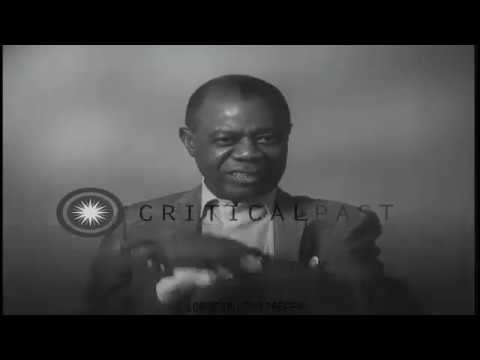 RARE INTERVIEW with Jazz Trumpeter and Singer LOUIS ARMSTRONG [1960] | RARE FOOTAGE