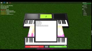 ROBLOX Piano: Song of Healing