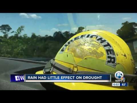 Rain had little effect on Port St. Lucie drought