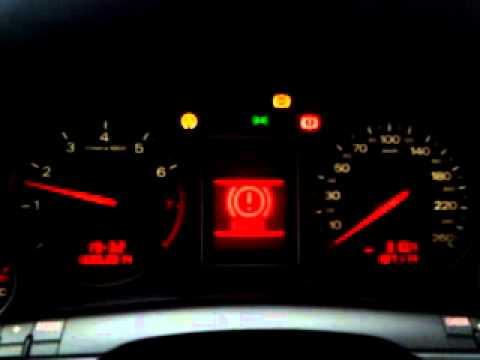 Audia A4 B6 Migajace Kontrolki Youtube