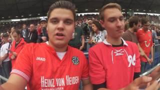Hannover 96 vs. Karlsruher SC [Stadion V-Log] ~ Follow me Around