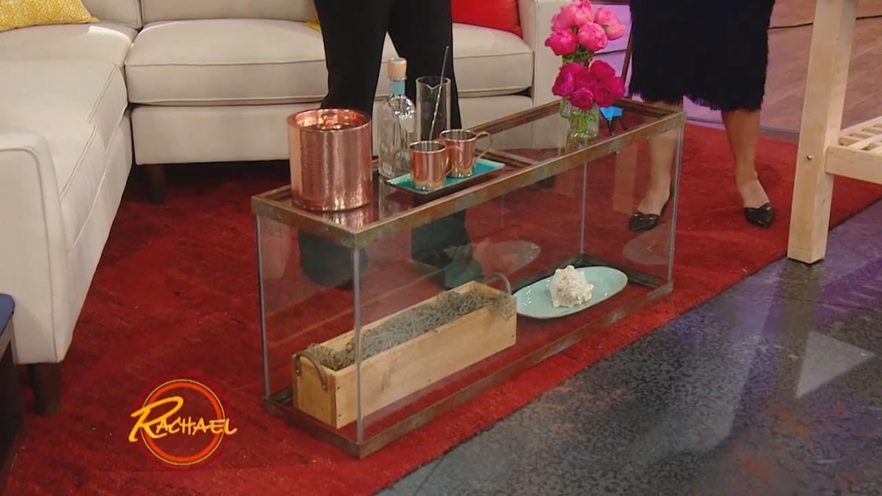 How To Upcycle An Old Fish Tank + Turn It Into Your New Coffee Table