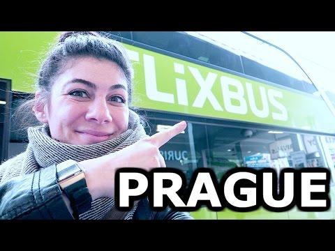 FLIXBUS TAKES US TO PRAGUE! - TRAVEL VLOG 268 PRAGUE | ENTERPRISEME TV