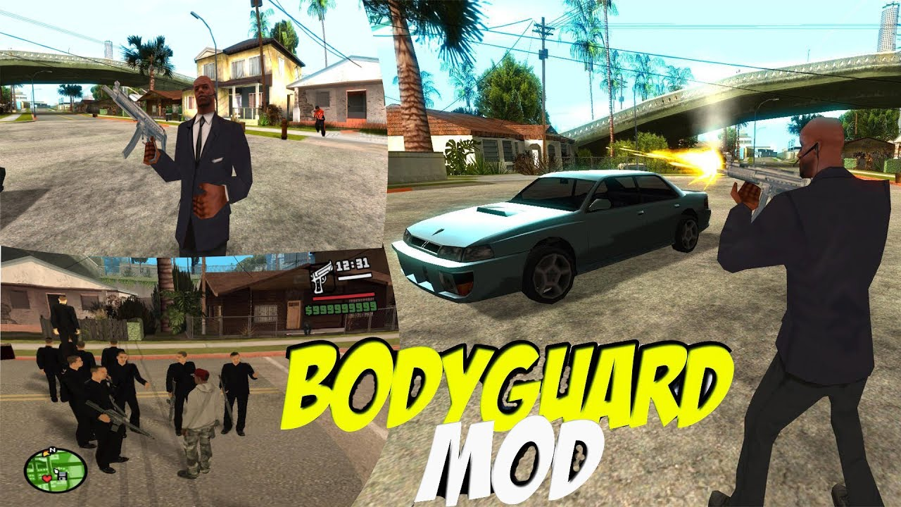 Gta san andreas   bodyguard protection   cleo +[download link.