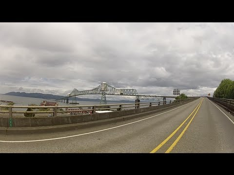 Crossing the Astoria-Megler Bridge, Northbound