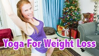 New Years Sexy Yoga Challenge For Weight Loss