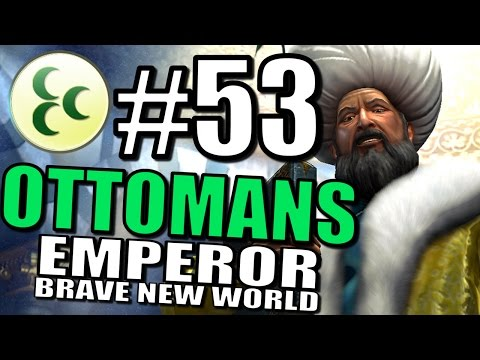 Civilization 5 Gameplay: Brave New World: The Ottomans Pt 53 [Europe Map Mod]