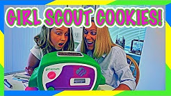 😃GIRL SCOUT COOKIE BAKING CHALLENGE | EASY BAKE OVEN!🍪