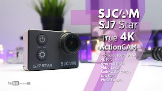 vLOG: SJCAM SJ7 Star True 4K WIFI ActionCAM 12MP Unboxing & Hands-On  Video & Photo Sample Ph