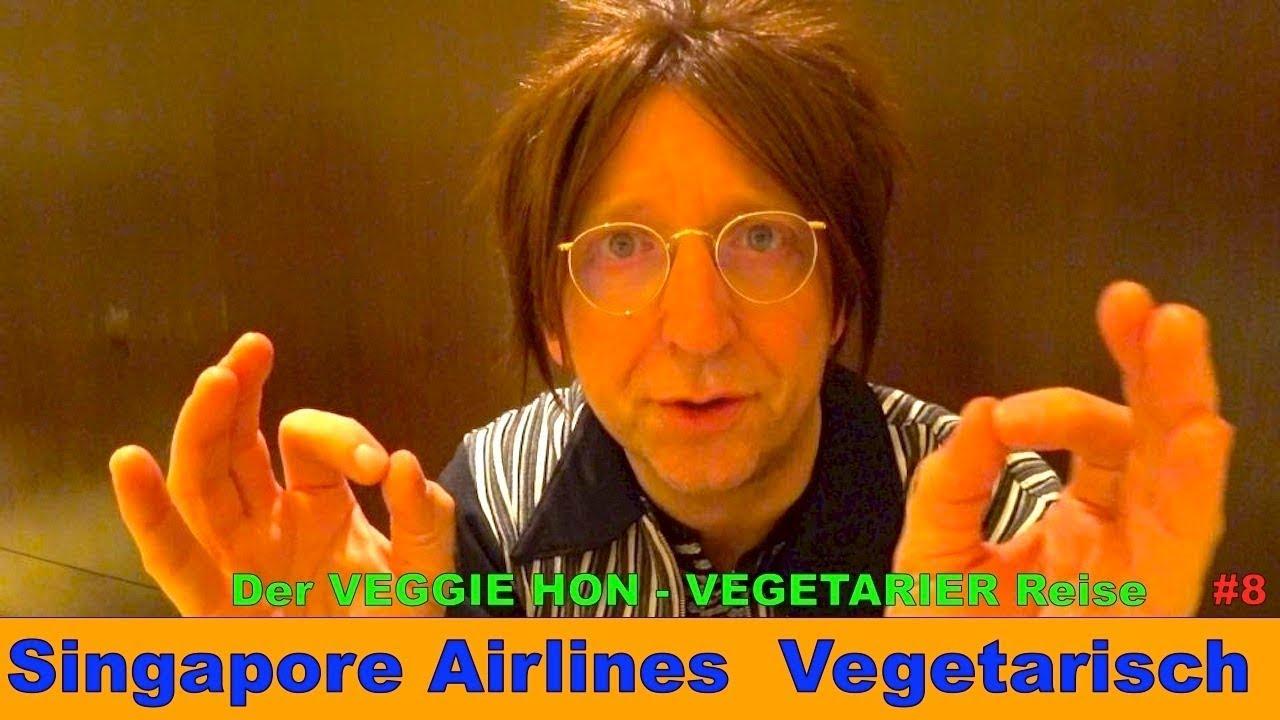 Singapore Airlines ? Lounge ? 1. Mal Vegetarisch Vegan ?️ VEGETARIER REISE #8 | Der HON ? Veggie