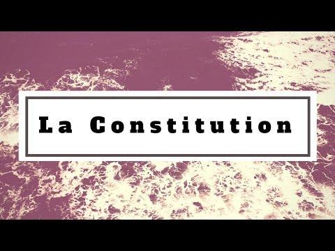 Droit constitutionnel: la Constitution