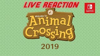 Animal Crossing Switch Reveal Live Reaction!!!