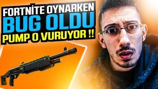 FORTNITE SHOOTS PUMP 0 WHILE PLAYING BUG !! (Fortnite Battle Royale English)