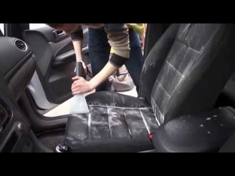 видео: ПАРОВОЗ Химчистка автомобиля