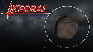 Making A Ring Station Around Gilly - Kerbal Space Program