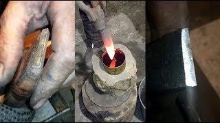 видео Как закалить металл в домашних условиях