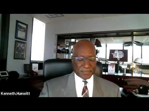 TSU Interim President Ken Huewitt speaks