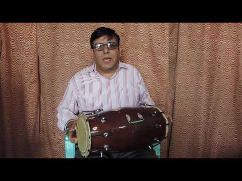 How to play Dholak lesson 18 Teental धा धिन धिन धा धा धिन धिन धा धा तिन तिन ता ता धिन धिन धा