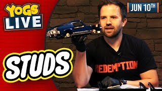 LEGO STUDS: FORD MUSTANG & LONDON BUS BUILD w/ Simon & Turps! - 10/06/19