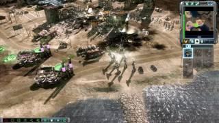 GDI vs Brutal Nod Skirmish | Coastline Chaos | Command & Conquer 3: Tiberium Wars Gameplay
