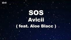 SOS ft. Aloe Blacc - Avicii Karaoke 【No Guide Melody】 Instrumental