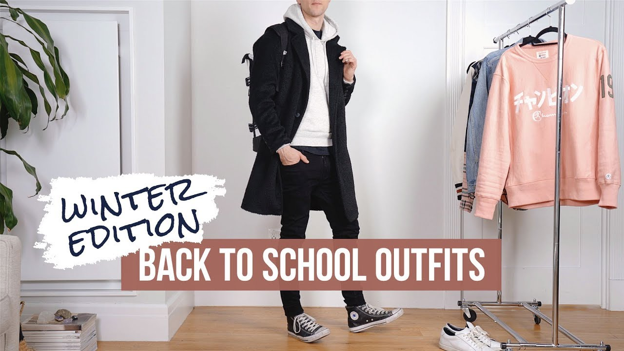 Back to School Clothes for Guys