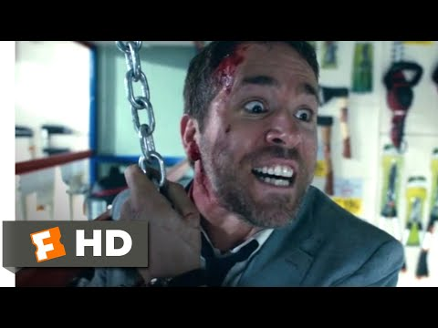 The Hitman's Bodyguard (2017) - Unkillable Scene (11/12) | Movieclips