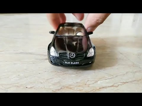 Mercedes Benz SLK Class Diecast Car By Kinsmart | Scale 1:32 | Miniature Cars Collection