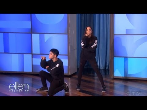 Kaycee Rice and Sean Lew - The Ellen Show...