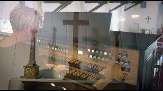Concert organist Jean Farris Fuller plays: 'Improvisation on Thaxte...
