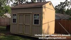 Storage Sheds Houston, Tx (10x16x10)