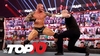 Top 10 Raw moments: WWE Top 10, Jan. 11, 2021