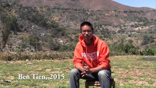 Student Work: Engineers Without Borders, Peru